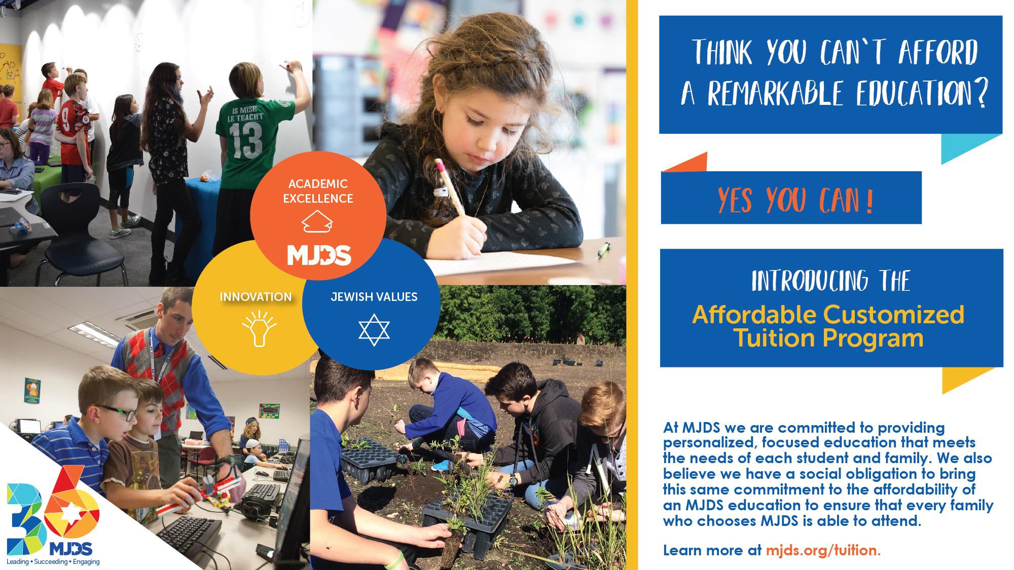 MJDS Public Calendar - Milwaukee Jewish Day School